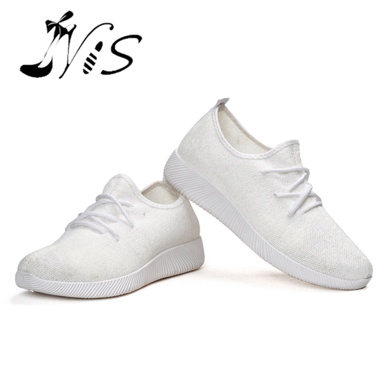 Nis Female Sneakers Footwear Tennis-Shoes Comfortable Slip-On Running Casual Women Sports