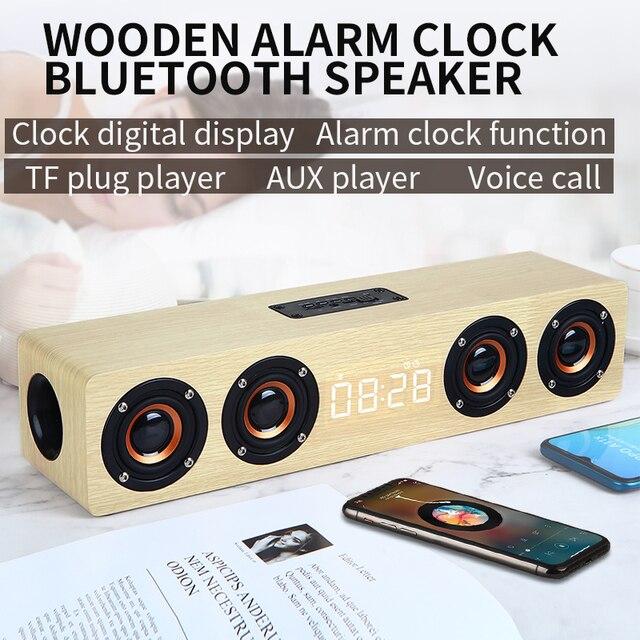 Wooden Feature Bluetooth Speaker 4