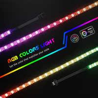 Indirizzabile Digitale Luce di Striscia per il PC, per ASUS Aura di SINCRONIZZAZIONE, MSI Mystic Luce di SINCRONIZZAZIONE, AORUS RGB2.0 3 pin AGGIUNGERE Un Colpo di Testa sulla Scheda Madre