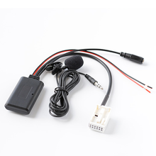 Bluetooth 5.0 módulo adaptador mp3 handsfree handsfree para volkswagen rcd210 rcd300 rcd310 rns300 rns310 mfd2 12 pinos plug