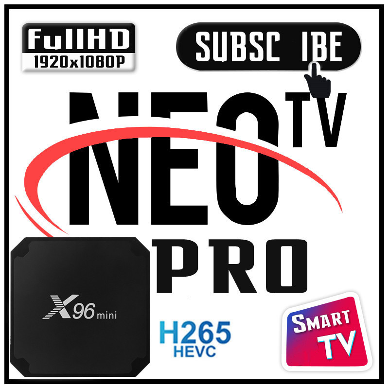 Smart IPTV NEO TV NEO TV PRO ANDROID BOX SUPPORT FRANCE belgique TV Box NEO M3U SMART TV WIFI 4K HD aucune application incluse | AliExpress