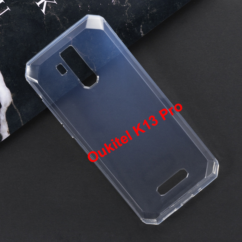 For <font><b>Oukitel</b></font> <font><b>K13</b></font> <font><b>Pro</b></font> <font><b>Case</b></font> Gel Pudding Protective Clear Back Cover Phone Coque For Fundas <font><b>Oukitel</b></font> <font><b>K13</b></font> <font><b>Pro</b></font> 6.41