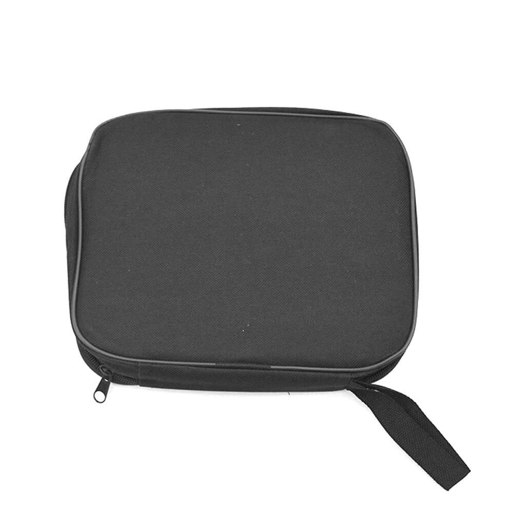 Практичная многофункциональная хозяйственная сумка, водонепроницаемые комплекты для ремонта, черная сумочка с металлическими