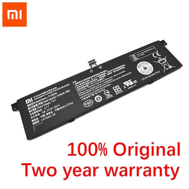XIAO mi nouveau Original 5230mAh R13B01W R13B02W tablette batterie pour Xiao mi Air 13.3