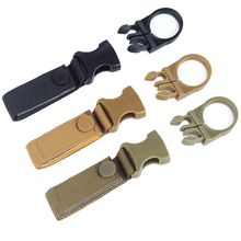Travel Portable Outdoor Sports Water Bottle Buckle Webbing Hanging sports webbing bottle buckle A1