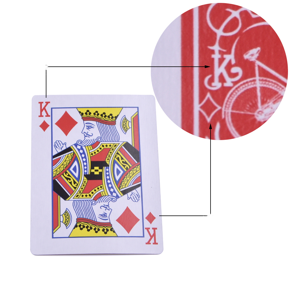 Marked Stripper Deck Playing Cards Poker Magic Tricks Close Up Street Illusion Gimmick Props Mentalism Kid Child Puzzle Toy