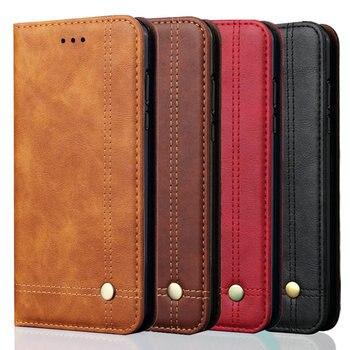 For Xiaomi Poco X3 NFC Case Mi Note 10 Lite 9 T Mi 9T Flip Funda Redmi Note 9S 9 Pro 8T 9C 9A 9C Wallet Case Redmi Note 8 Pro F2