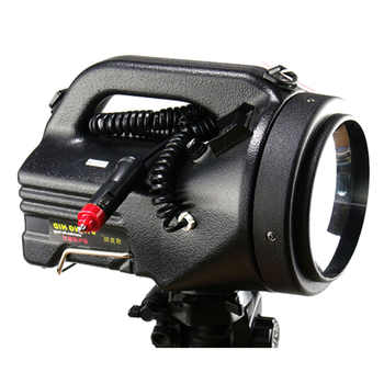 High power 100W xenon searchlight outdoor hunting 75W powerful searchlight built-in 12V20AH battery rechargeable HID searchlight