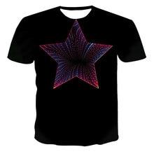 Men's youth 3D printing T-shirt street hip-hop style shirt quick-drying clothes high-quality O-neck T-shirt 2021 new