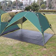 цены Ultralight Waterproof Outdoor Camping Tent Mat PE Floor Cloth Beach Blanket Picnic Play Mats Camping Tent Ground Mat Mattress