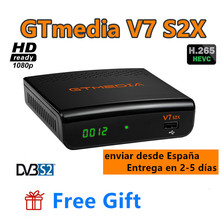 GTmedia V7 S2X DVB-S2 1080P Satellite-Receiver H.265 GT Media v7s hd With USB WIFI no app