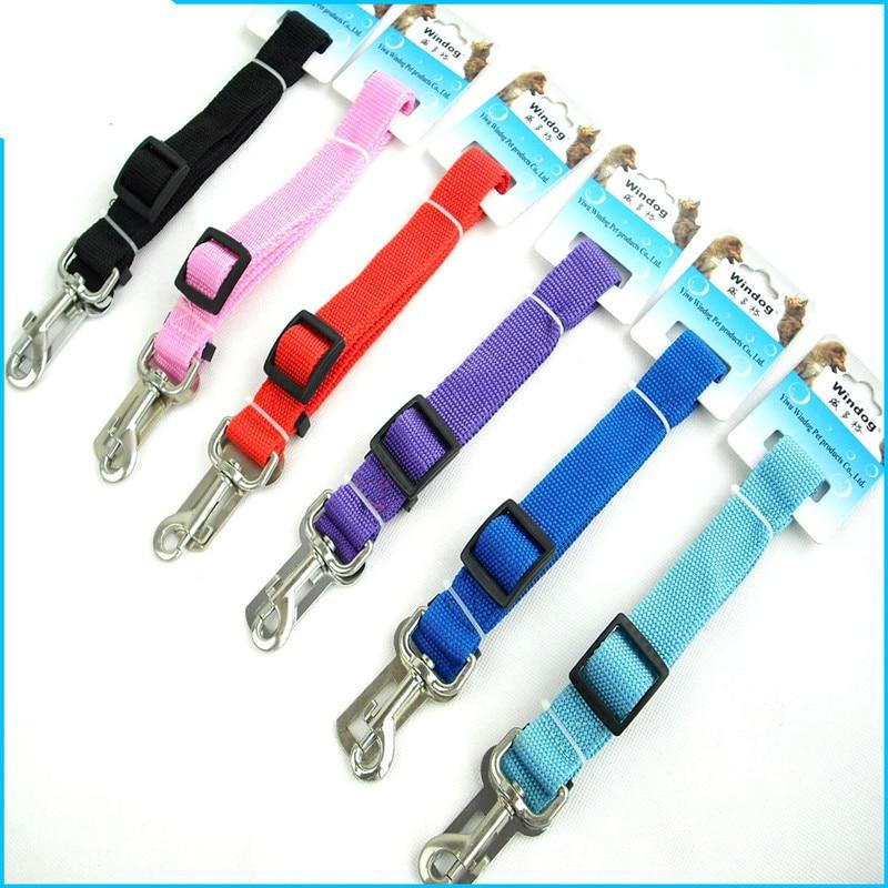 Pet Supplies Car Safety Belt For Pet Dog Traction Safety Belt Car Sewn Craft