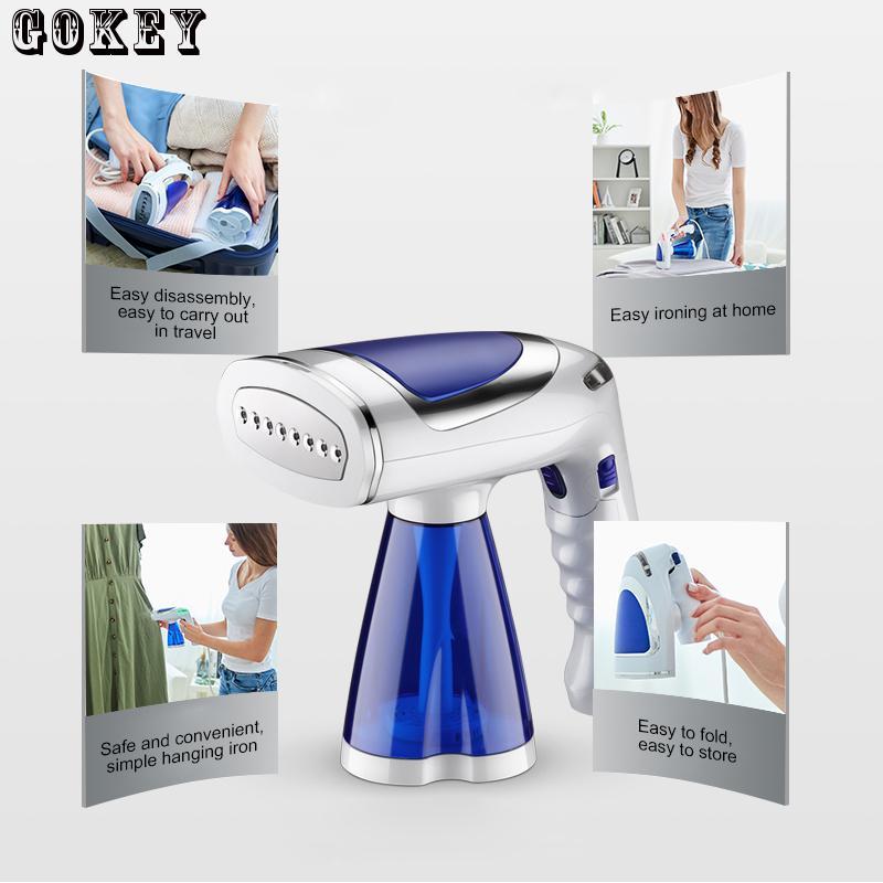 Mini Portable Steamer Travel Household Handheld Steamer Ironing Machine Garment Steamer220V Home Appliances Used as Humidifier