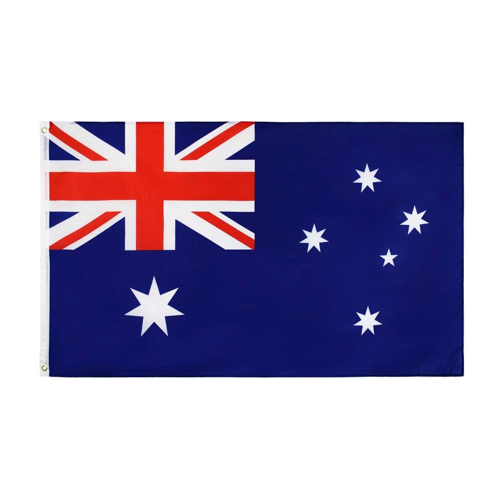 Johnin 90*150cm AUS AU australien australische flagge Für Dekoration
