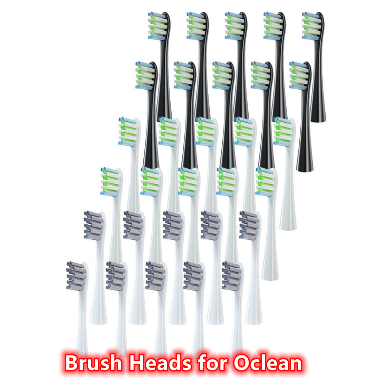 Replacement Tooth Brush Head for Oclean SE+/Air/One/Z1/F1/X /X Pro Series Sonic Electric Toothbrush Deep Clean 10Pcs/20Pcs/30Pcs
