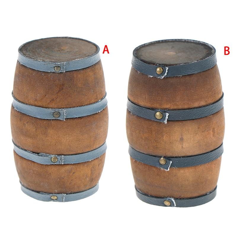 RC Car 1:10 Accessories Wooden Barrel Tool For 1/10 RC Rock Crawler Axial SCX10 90047 TAMIYA CC01 D90 D110 TF2 Traxxas TRX4