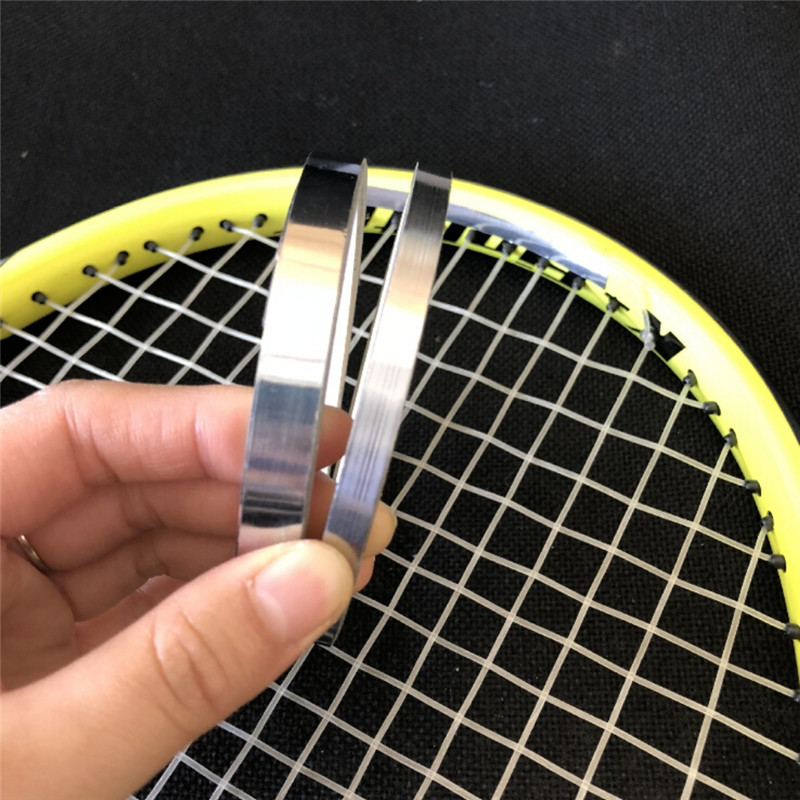 Tennis Badminton Racket Golf Clubs 0.18mmThick Weighted Lead Tape Sheet Sticker Heavier Balance Strips Aggravated