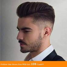 BYMC Mens Toupee Malaysia Virgin Human cabelo Soft Natural Blonde homem Fine Mono Top With PU Skin Lace Front On Rite