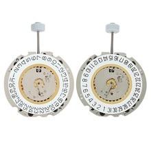 Reloj de cuarzo 2x705, reloj de repuesto sin batería, calendario único para onda, fecha en 3 y 6