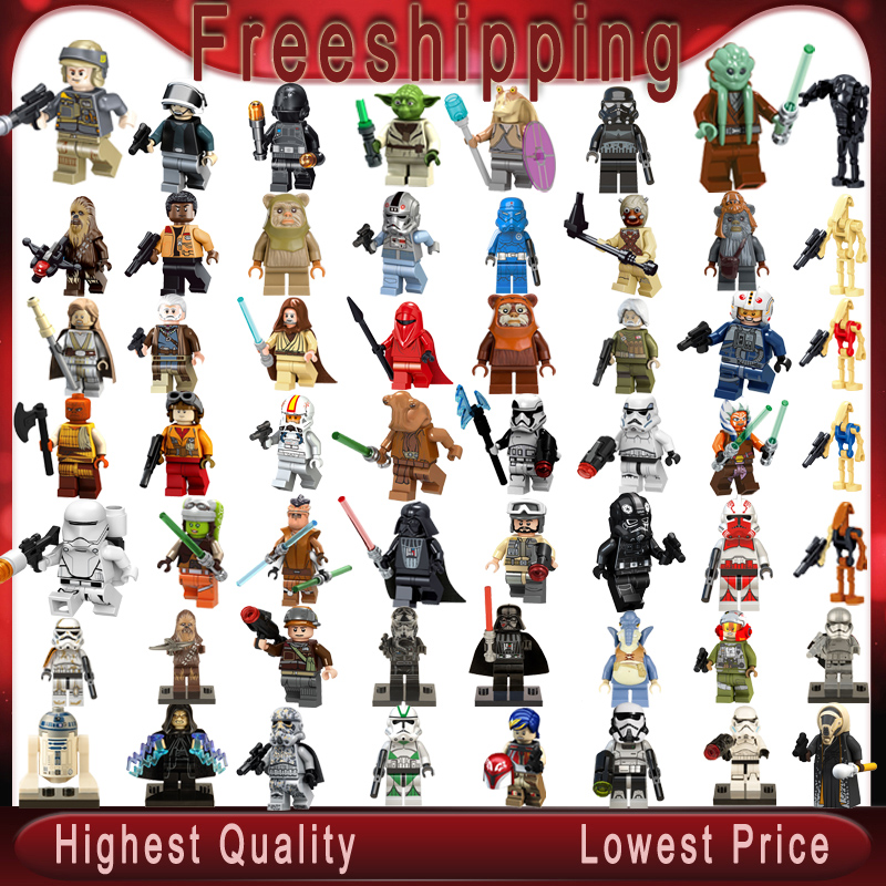 Legoed Star Wars Stormtroopers Clone Trooper Minifigured Action Figure Building Blocks Brikcs Children Toys Gifts