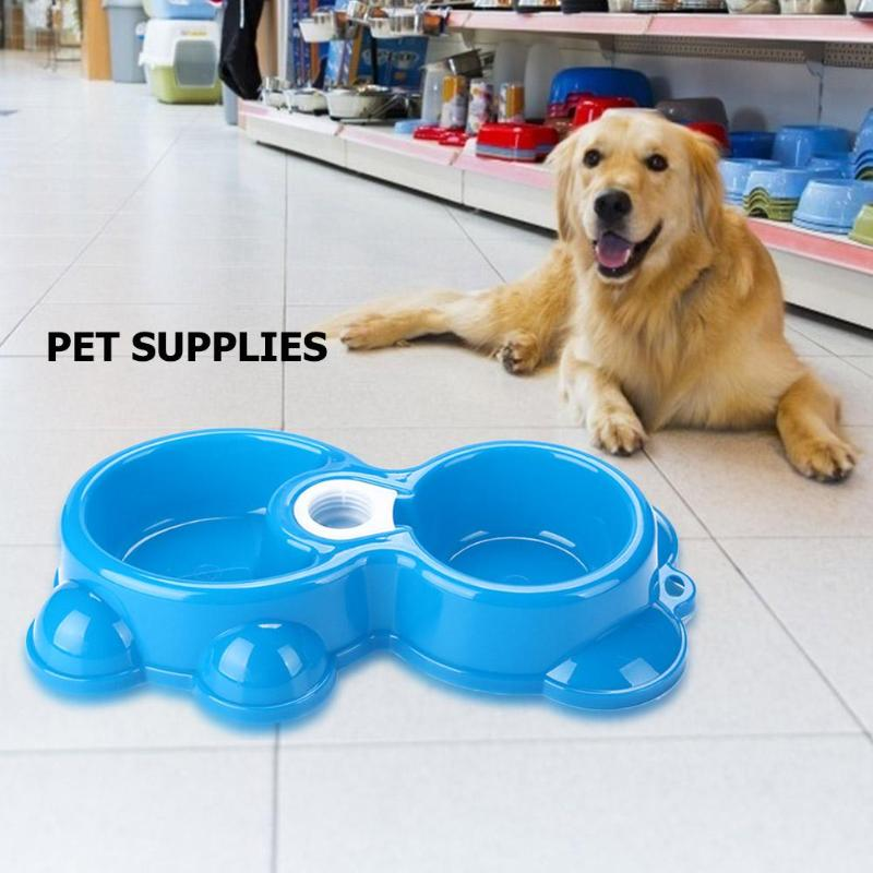 Stainless Steel Dog Feeder Drinking Food Water Non-Slip Bowl Pet Cat Supply 3 Colors Pet Feeding Essential Supplies
