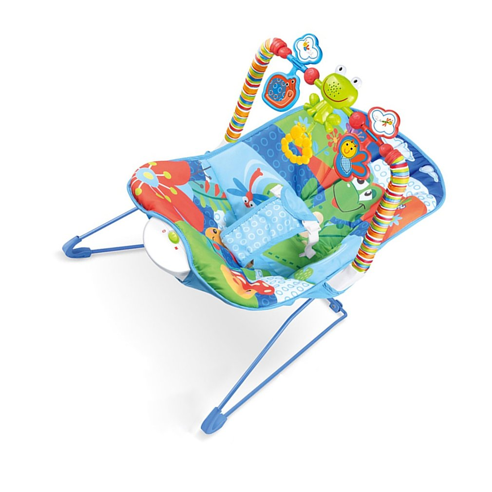He9994bc076674d30a48c22ee7b2808afq Baby electric rocking chair Multi-function music vibrating shaker Children's rocking chair recliner toy