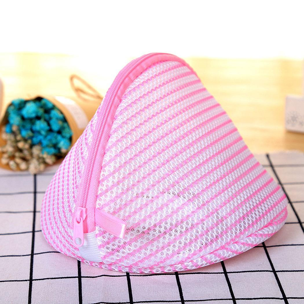 18 X 20cm 3 Color Wash Bag Durable Mesh Hollow Zipper Closure Home Underwear Laundry Bags Bra Wash Bag For Home