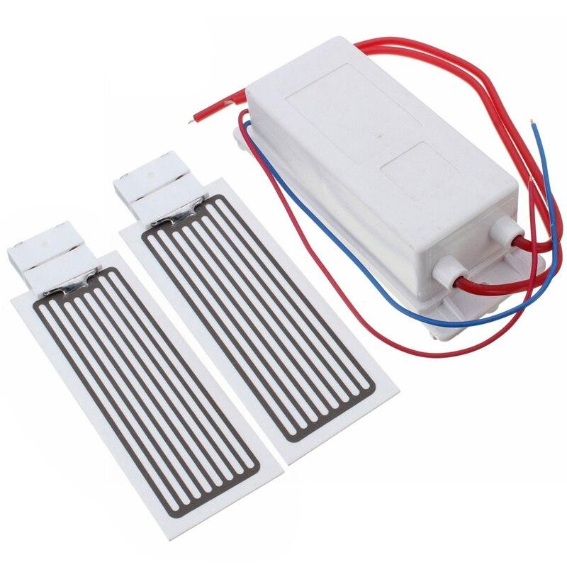 10G Generator ozonu 220V oczyszczacz powietrza dezodoryzacja ozonu z 2 sztuk płyta ceramiczna ozonu szybkie dezodoryzacja