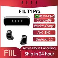 Auricolari Wireless originali FIIL T1 Pro T1 Lite TWS True cuffie con cancellazione attiva del rumore auricolare Bluetooth 5.2 IPX5 impermeabile