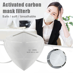 100pcs KN95 Mask Dust Masks N95 FFP2 Mask Prevent Anti Dusts PM2.5 Bacterium Safety Disposable Mask Face Mouth Masks Ship Fast 3