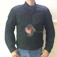 Motorcycle Textile Jacket Racing Jackets Motorbike Street Moto Riding Black Coat For Men