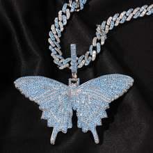 Ожерелье с кубическим цирконием класса ААА + украшение подвесками