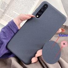 Матовый чехол для телефона Samsung Galaxy A01 чехол A51 71; Большие размеры 41, 42, 31 11 21 01 21С A20 30 40 50 S 70, 80, 5G ТПУ Мягкий противоударный защитный чехол для те...