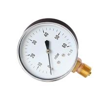 цены Portable Dual Scale Dial Gauge 1/4 1/8 NPT  Vacuum Pressure Meter Gauge Manometer Dial Display Digital Pressure Gauge Sep19