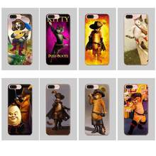 Voor Xiao mi rode Mi mi 4 7A 9 t K20 CC9 CC9E NOTE 7 8 9 Y3 se pro prime Gaan Spelen Fashion Design Skin Dunne Case Puss In Boots(China)