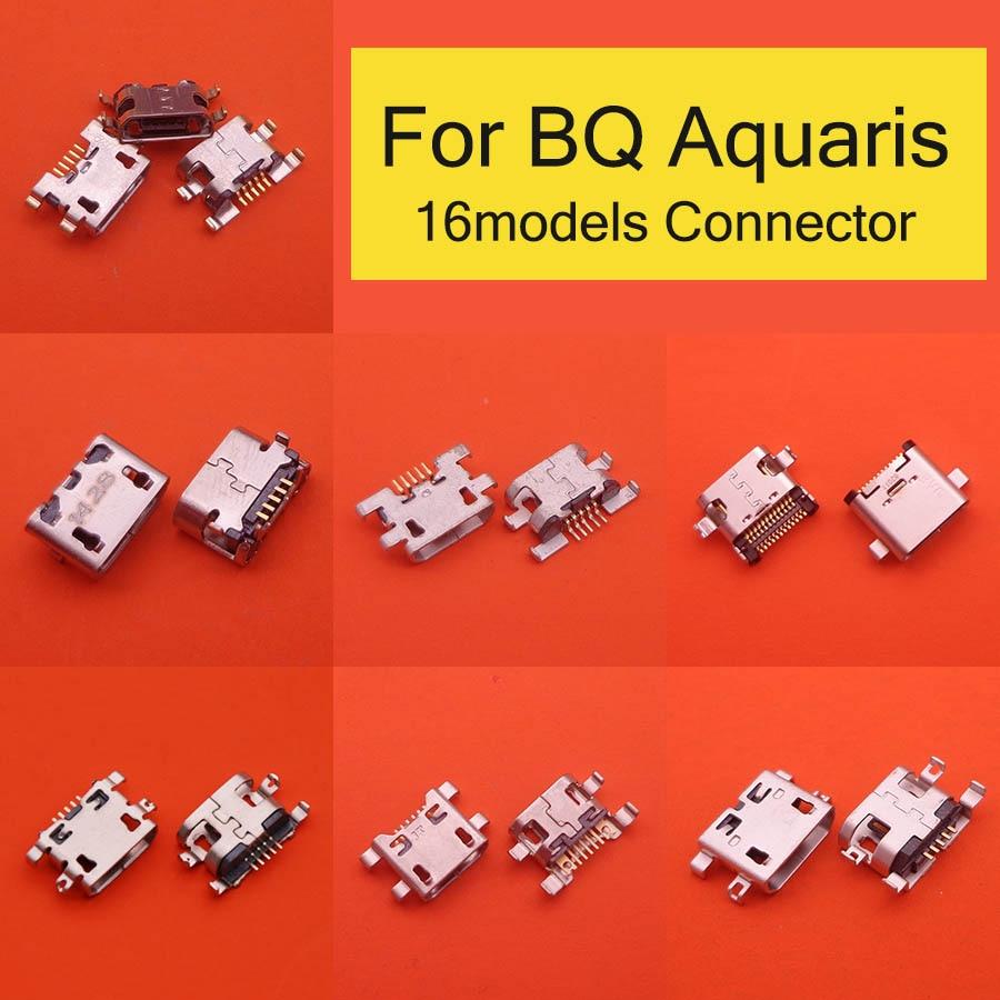 5pcs Power Charging Port Replacement Mini Micro USB Socket Plug Connector For BQ Aquaris U U Lite U2 U2 Lite V V Plus X X PRO