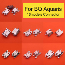 5pcs di Alimentazione di Ricarica di Ricambio Port Mini Micro USB Presa di Connettore Spina Per BQ Aquaris U U lite U2 U2 lite V V plus X X PRO