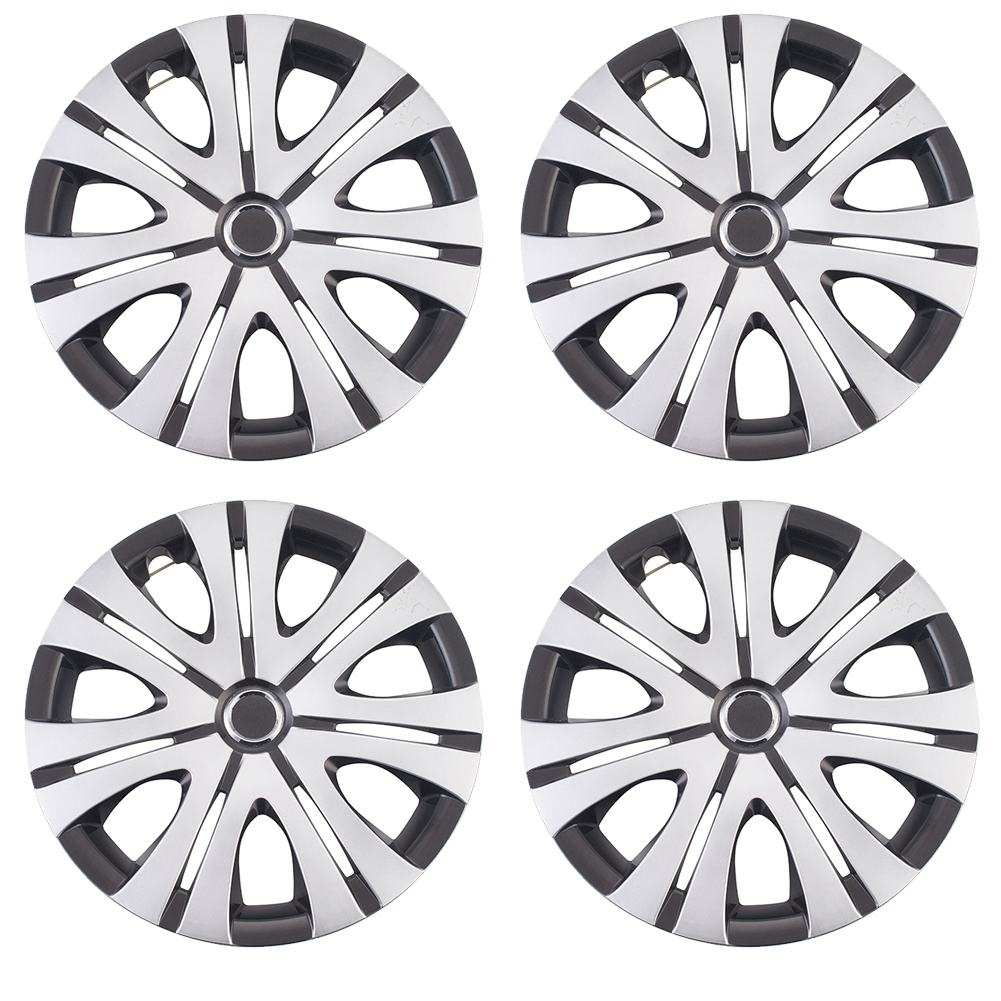 <font><b>Car</b></font> <font><b>Wheel</b></font> Caps 15inch Hubcap <font><b>Wheel</b></font> <font><b>Cover</b></font> 38cm <font><b>Hub</b></font> Cap <font><b>Covers</b></font> Automobile <font><b>Wheel</b></font> Protector 4 Pcs image