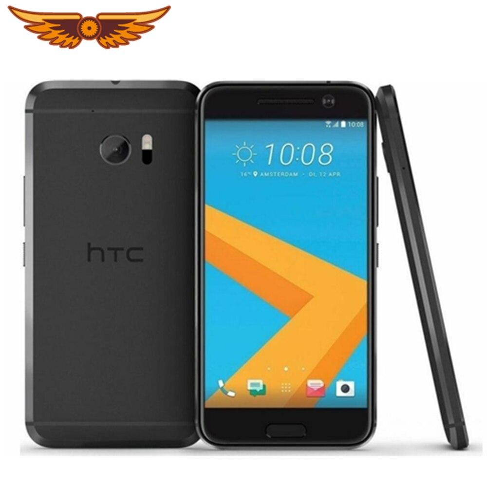 HTC 10 M10 4 ядра 5,2 дюймов 32 Гб Встроенная память 4 Гб Оперативная память 12.0MP LTE 4G Snapdragon 820 NFC FDD Nano SIM оригинальный разлоченый мобильный телефон