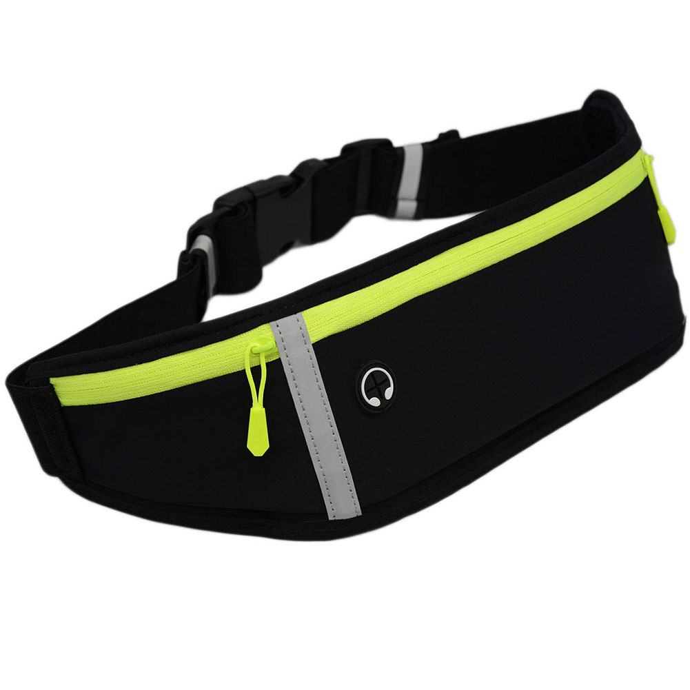 Sport Reflective Waist Bag Multi-function Portable Running Leisure Waterproof Mobile Phone Bag 1pcs