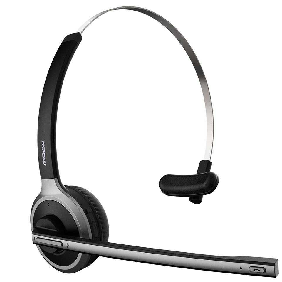 Mpow M5 Bluetooth 4.1 Headset Wireless Over-Head Noise Canceling Headphones With Crystal Clear Microphone For TruckerDriver (8)