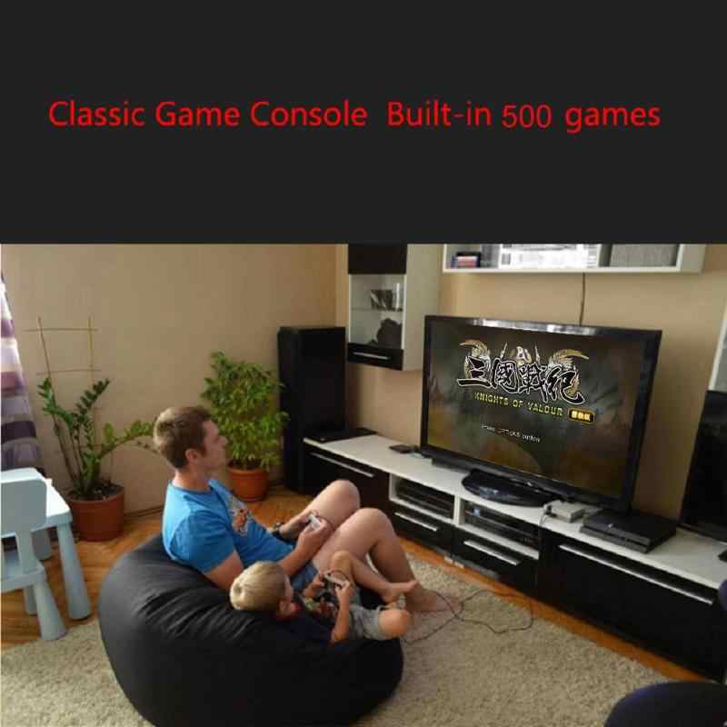 Dropshipping HDMI/AV çıkışı Mini TV el Retro video oyunu konsolu klasik 500/620 oyunları dahili 4K TV için PAL & NTSC