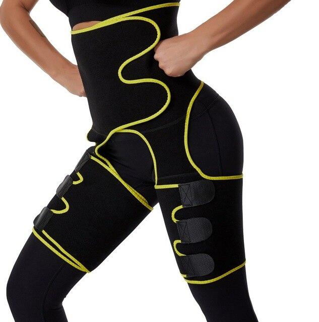 2020 New Leg Shaper Tightening Slimming Sheath Belt Waist Trainer Tummy Control Shapewear Sweat Shaper Waistband Reduction Belts