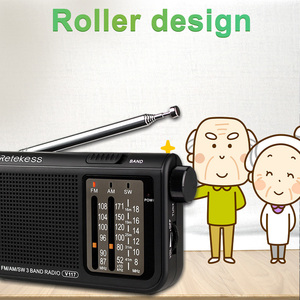 Image 4 - RETEKESS V117 AM FM SW Portable Radio for the elder Transistor Radio Receiver Short Wave Battery Powered Advanced Tuner Receiver