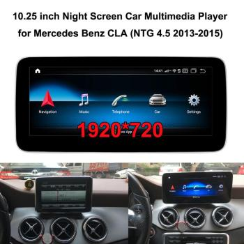 10.25 inch 1920*720 Car Multimedia Player for Mercedes Benz CLA 260 C117 X117 (NTG4.5 2013-2015) Car GPS Navigation image