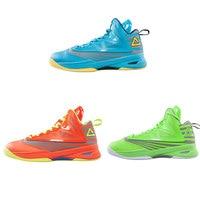 PEAK Outdoor Anti slip High Cut Safety Men's Basketball Shoes Soaring II Footwear Professional Damping Basketball Sneakers