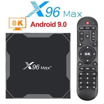 Original X96 Max Plus Smart TV BOX Quad Core Amlogic S905X3 1000M Wifi Android 10.0 TV BOX PK T95 X96Q MAX H96 max H616 TV Box h96 max x2 voice smart tv box android 9 0 amlogic s905x2 lpddr4 quad core 4gb 32gb 64gb 2 4g