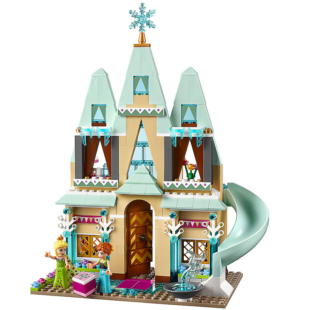 Friends Model Compatible Legoinglys FrozenINGLYS  Princess 41068 Arendelle Castle Celebration Building Blocks Bricks Toys