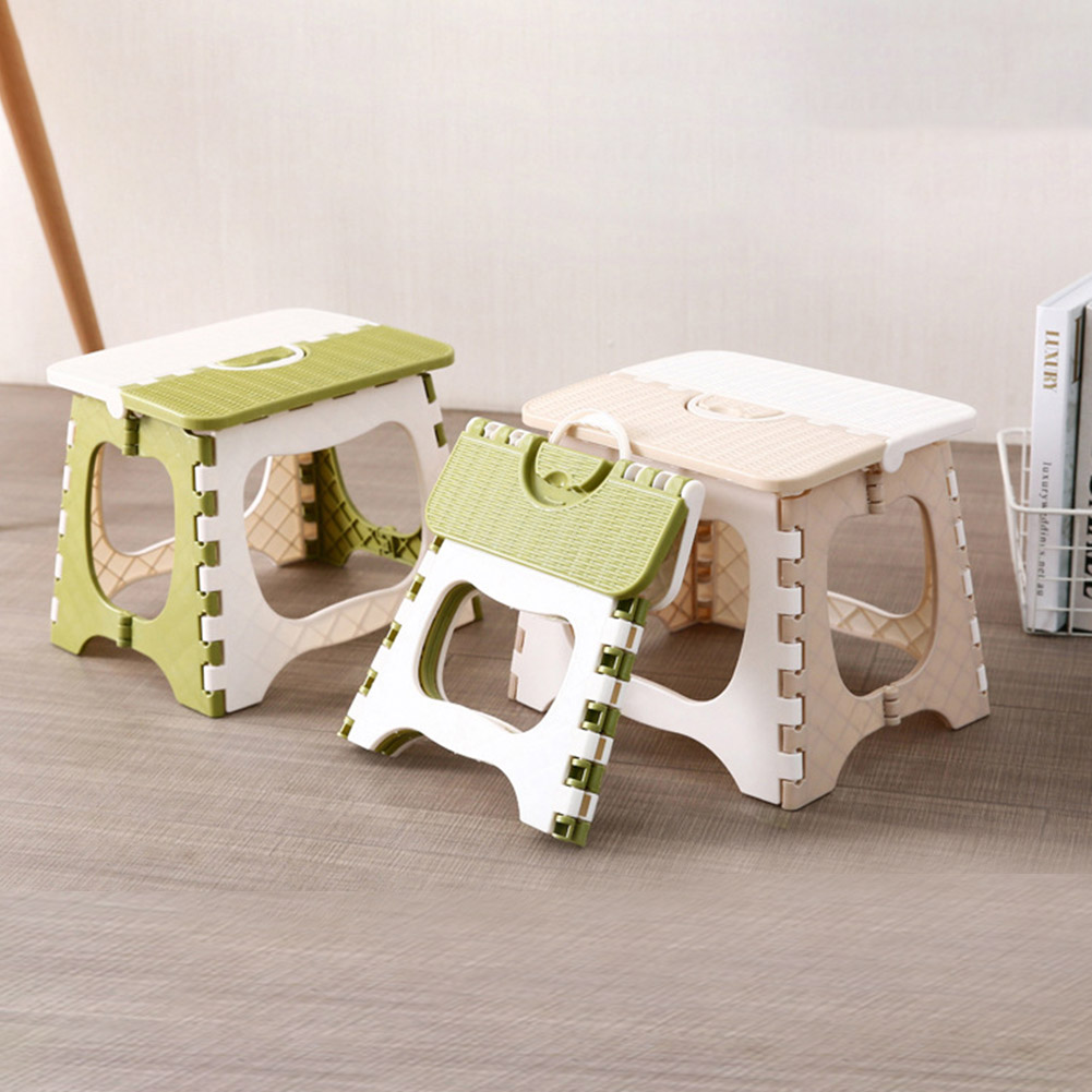 Plastic Multipurpose Folding Step Stool Home Train Outdoor Foldable Storage Convenient YU-Home