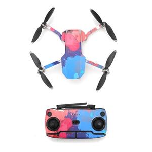 Image 4 - Wasserdicht Dekorative Aufkleber Aufkleber Haut Wrap Abdeckung Kit für DJI Mavic Mini Drone Zubehör Teile